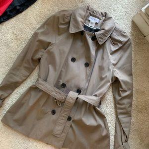 Paul & Joe Paris Trench Coat Jacket Khaki Sz 40 8